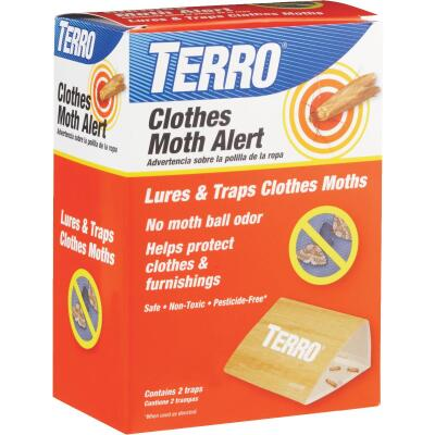 Terro Glue Clothes Moth Alert Trap (2-Pack)