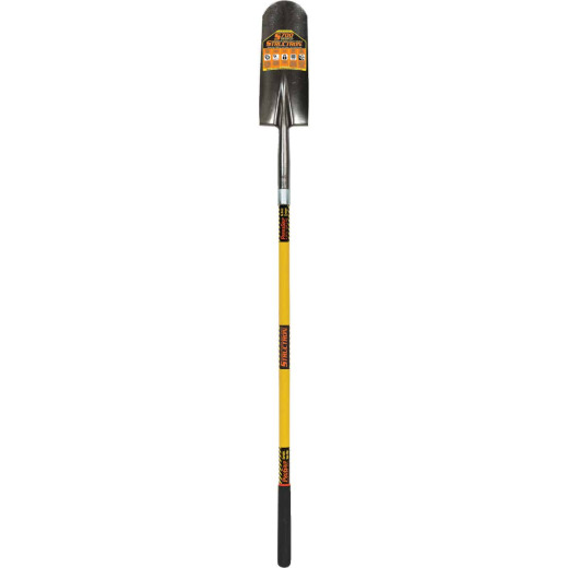 Structron S700 SpringFlex 48 In. Fiberglass Handle Round Point Drain Spade
