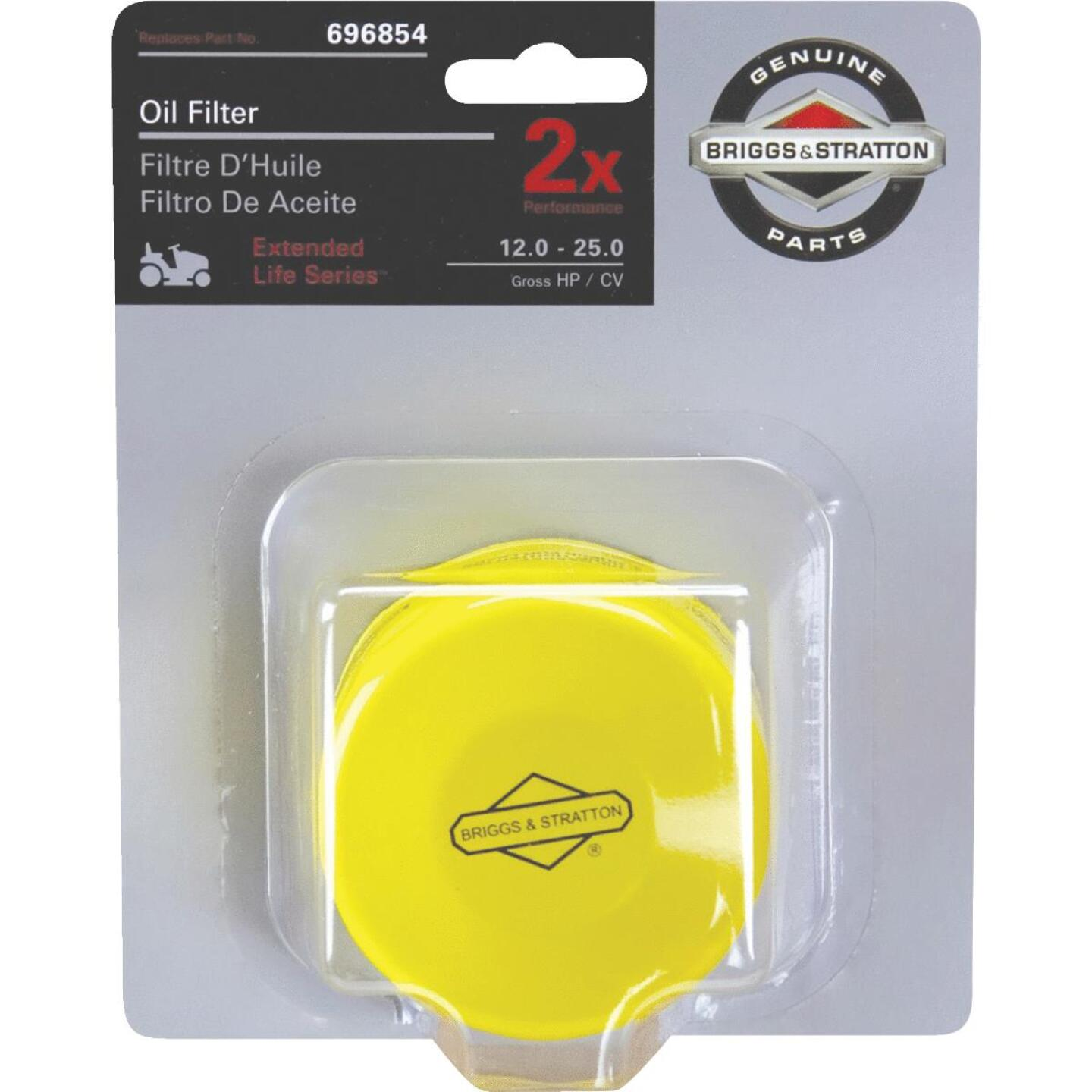 Briggs & Stratton 696854 Extended Life Series Oil Filter Image 1