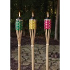 Outdoor Expressions 4 Ft. Assorted Color Bamboo Party Patio Torch Image 2