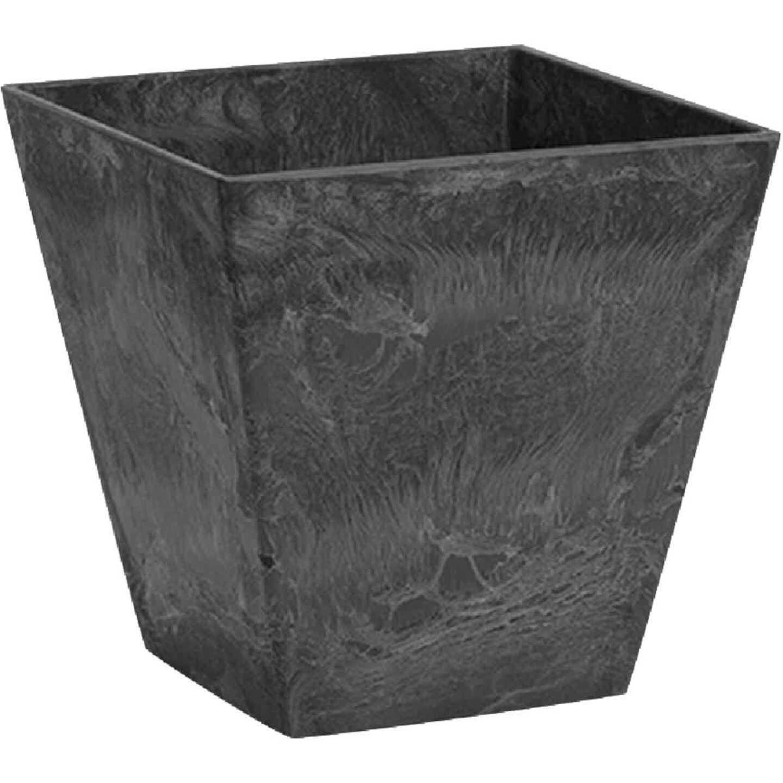 Novelty ArtStone Ella 10 In. W. x 9.75 In. H. x 10 In. L. Black Resin Planter Image 1