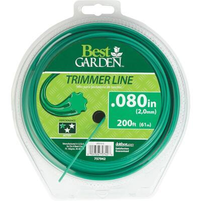 Best Garden 0.080 In. x 200 Ft. 7-Point Trimmer Line