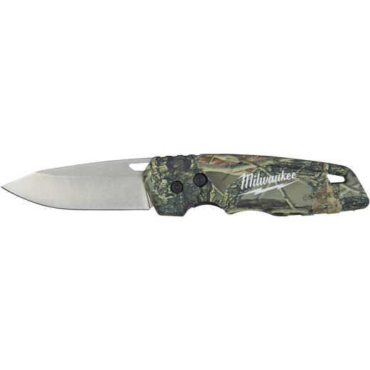 Milwaukee FASTBACK 2.95 In. Camo Folding Knife