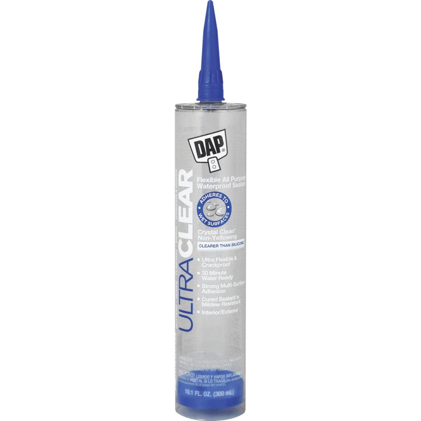 DAP Ultra Clear 10.1 Oz. Flexible Elastomeric Sealant Image 1