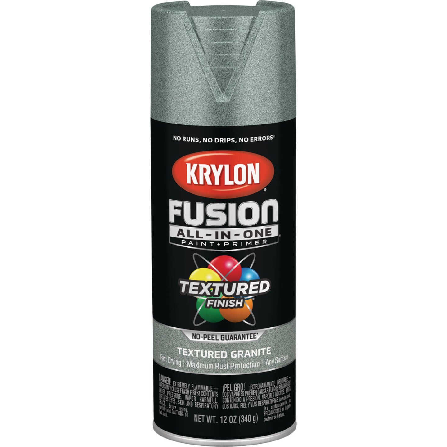 Krylon Fusion All-In-One Textured Spray Paint & Primer, Granite Image 1