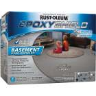 Rust-Oleum EpoxyShield Satin Basement Floor Coating Kit, Gray, 120 Oz. Image 1