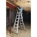 Werner 26 Ft. Aluminum Multi-Position Telescoping Ladder with 300 Lb. Load Capacity Type IA Ladder Rating Image 4