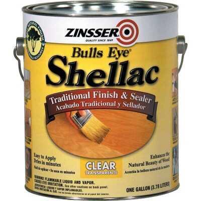 Zinsser Bulls Eye Clear Shellac, Gallon