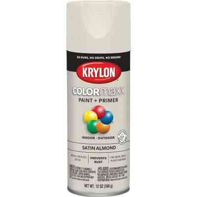 Krylon ColorMaxx 12 Oz. Satin Spray Paint, Almond