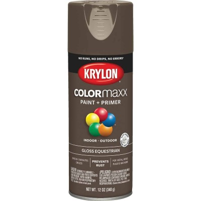 Krylon ColorMaxx 12 Oz. Gloss Spray Paint, Equestrian