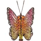 Outdoor Expressions 8 In. W. x 11.25 In. H. x 7 In. D. Butterfly Solar Light Image 4