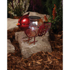Outdoor Expressions 6 In. W.x 7.5 In. H. x 10 In. D. Bird Solar Light Image 3