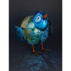Outdoor Expressions 6 In. W.x 7.5 In. H. x 10 In. D. Bird Solar Light Image 5
