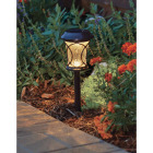 Moonrays Bronze 3 Lumens Plastic Solar Path Light Image 3