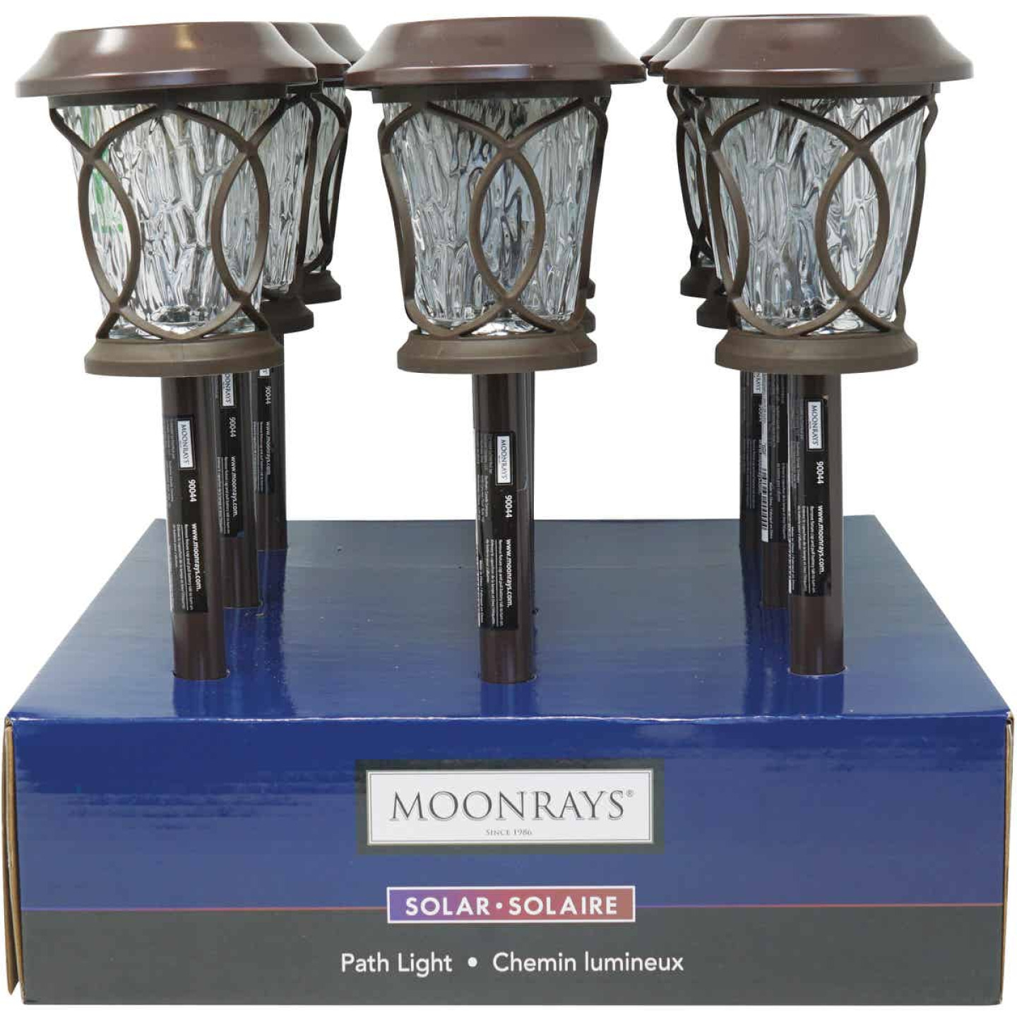 Moonrays Bronze 3 Lumens Plastic Solar Path Light Image 4