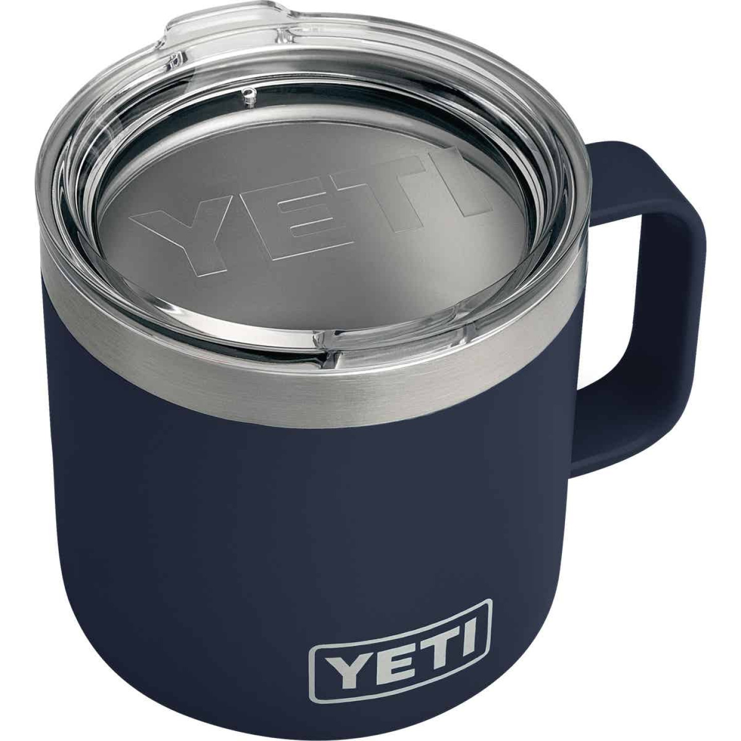 Yeti Rambler 14 Oz. Navy Blue Stainless Steel Insulated Mug Image 1