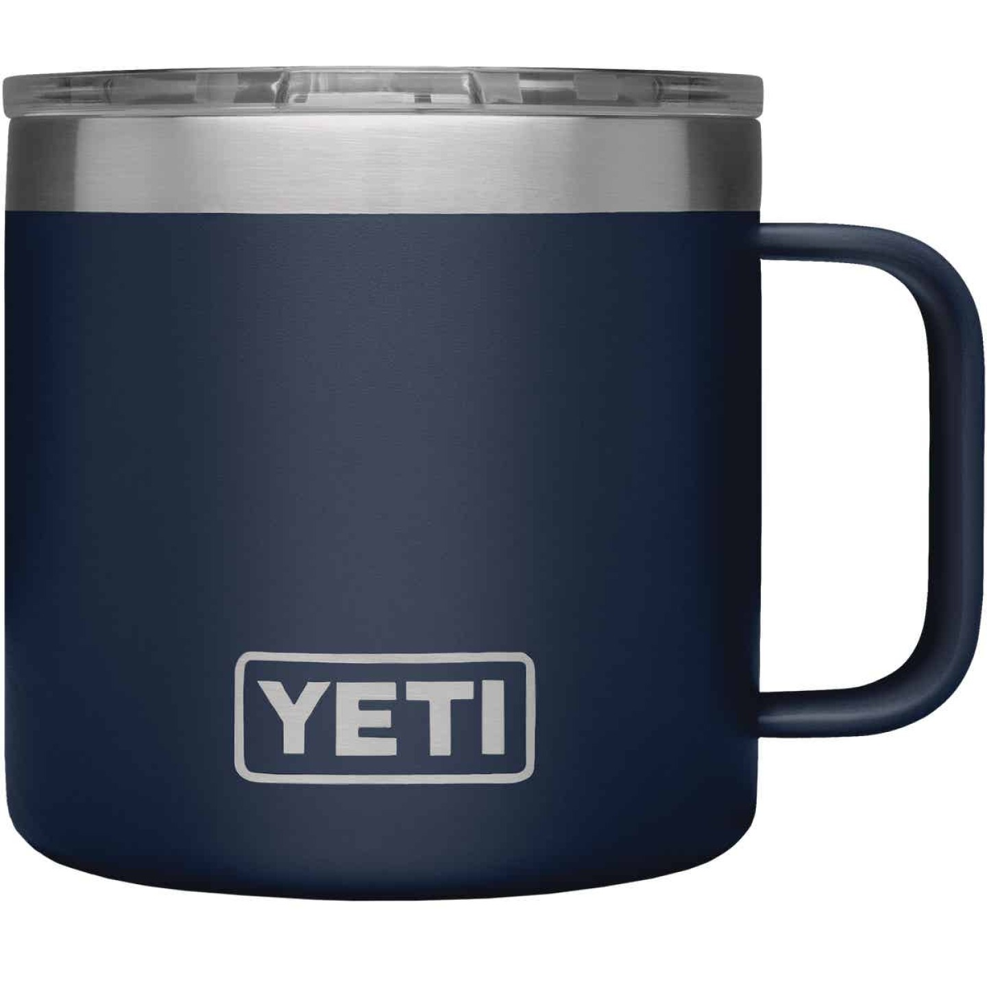 Yeti Rambler 14 Oz. Navy Blue Stainless Steel Insulated Mug Image 3