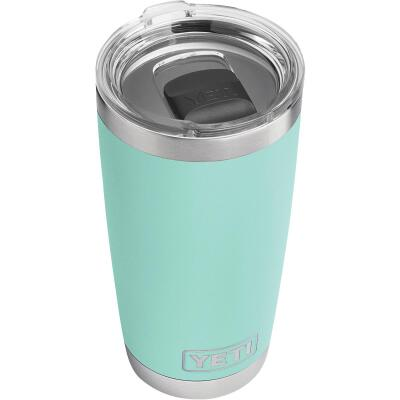 Yeti Rambler 20 Oz. Seafoam Stainless Steel Insulated Tumbler with MagSlider Lid