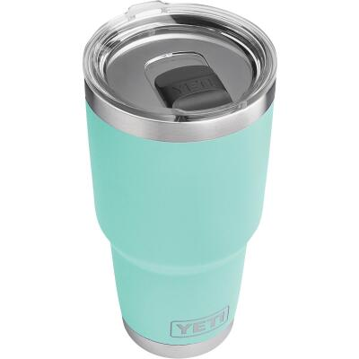 Yeti Rambler 30 Oz. Seafoam Stainless Steel Insulated Tumbler with MagSlider Lid