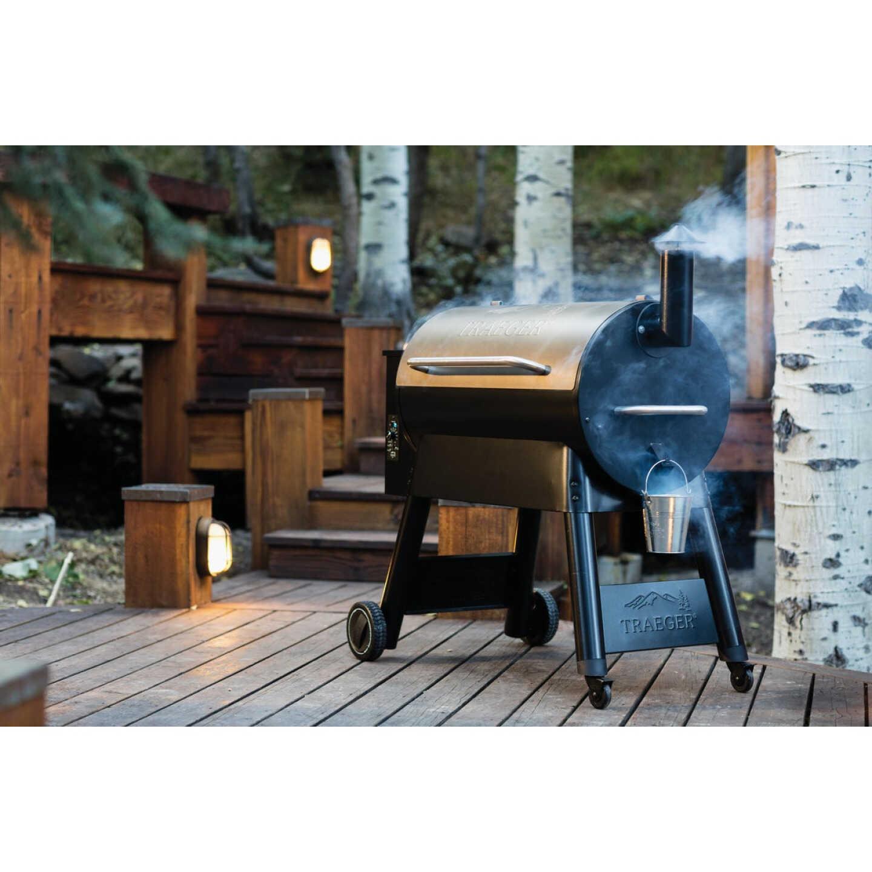 Traeger Pro Series 34 Bronze 36,000-BTU 884 Sq. In. Wood Pellet Grill Image 2