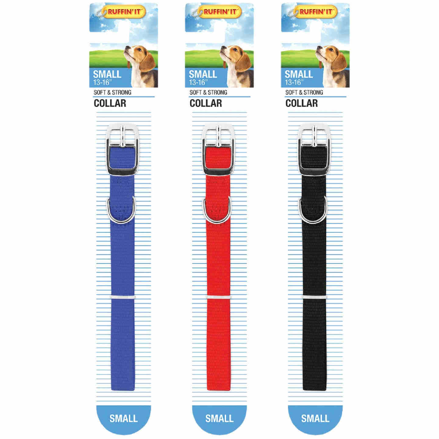 Westminster Pet Ruffin' it Adjustable 16 In. Nylon Dog Collar Image 4