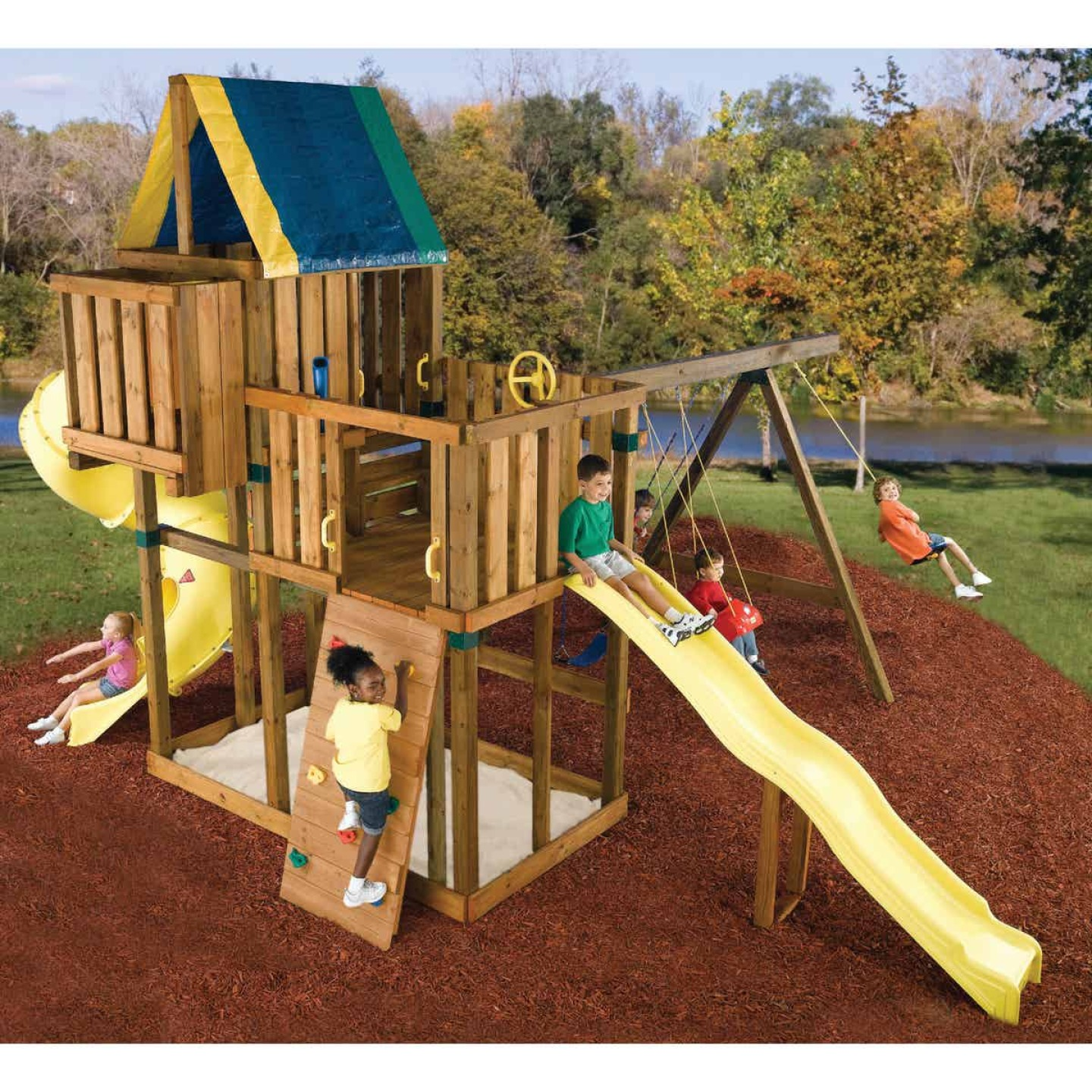 Swing N Slide Kodiak Playground Kit Image 2