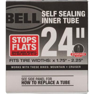 Bell Sports 24 In. Self-Sealing Bicycle Tube