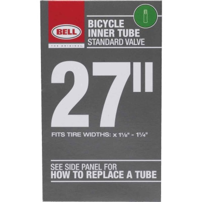 Bell 27 In. Standard Premium Quality Rubber Bicycle Tube