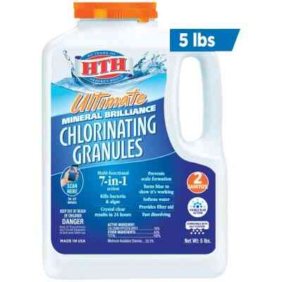 HTH 5 Lb. Ultimate Mineral Brilliance Chlorine Granule