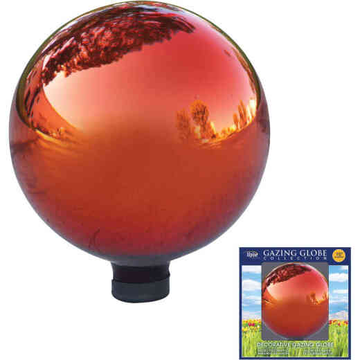 Alpine 10 In. Dia. Red Glass Gazing Globe