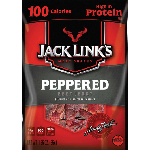 Jack Link's 1.25 Oz. Peppered Beef Jerky